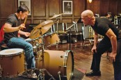 Left to right: Miles Teller as Andrew and J.K. Simmons as FletcherPhoto by Daniel McFadden, Courtesy of Sony Pictures Classics